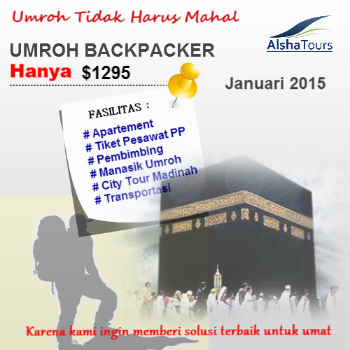 paket umroh backpacker 2015